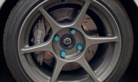 Ralliart Colt with Wilwood Calipers and Hawk discs